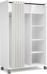 Skříň do předsíně Harmony 119 bílá/beige