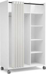Skříň Harmony 119 bílá/beige