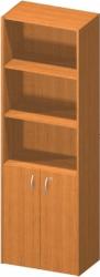 Kancelářská skříňka se zámkem, třešeň, TEMPO ASISTENT NEW 002