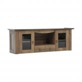 Závěsná skříňka VILAR DA16, dub lefkas