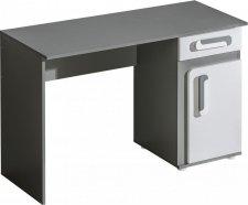 Pracovní stůl APETTITA 9 antracit/bílá