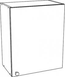 60H horní skříňka EKO bílá