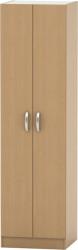 Šatní skříň BETTY 2, 2-dveřová, buk, BE02-004-00