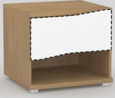 Noční stolek REA WAVE 1 BUK