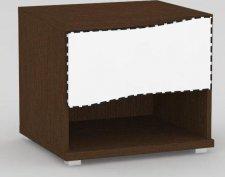 Noční stolek REA WAVE 1 WENGE