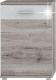 Komoda RACHEL TYP 1 dub canyon/bílá lesk