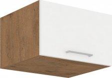 Kuchyňská skříňka Vega 60NAGU36-1F dub lancelot/bílý lesk