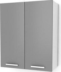 Kuchyňská skříňka Natanya G602D bílý lesk