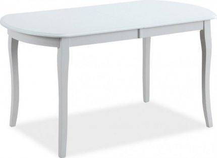 Jídelní stůl rozkládací 140x80 ALICANTE bílá
