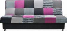 Rozkládací pohovka ZAPPA s úložným prostorem, fialová