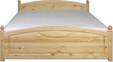Masivní postel KL-103, 200x200