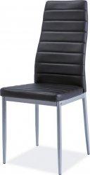 Jídelní židle H-261 Bis černá/alu