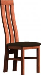 Čalouněná židle PARIS dub stoletý/Victoria 36