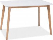 Jídelní stůl MOSSO I dub-bílá