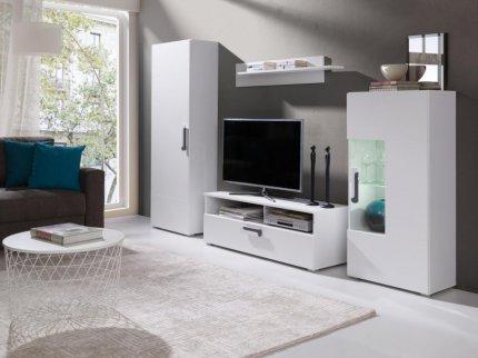 Obývací stěna Miari bílá