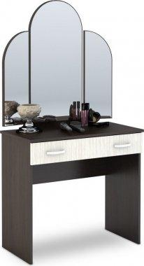Toaletní stolek se zrcadlem BASIA belfort/wenge