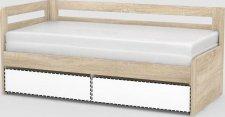 Dětská rozkládací postel REA HOPPIP KORPUS s úložným prostorem, DUB BARDOLINO