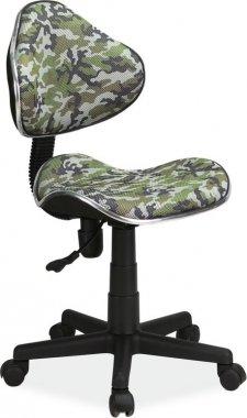 Dětská židle Q-G2 maskáčový vzor