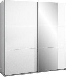 Šatní skříň BASTIA 200 bílá/bílá