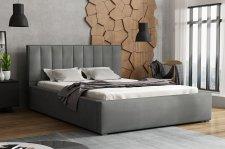 Čalouněná postel LUCINI 140x200, výběr látek