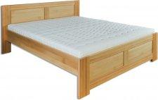 Masivní postel KL-112, 120x200, dřevo buk, výběr moření