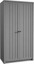 Šatní skříň PROVANCE S2D, šedá