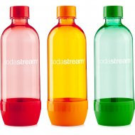 Sodastream Lahev TriPack 1l Greenorange/Red/Green