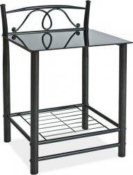 Noční stolek ET-920 černý