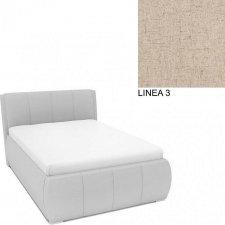 Čalouněná postel AVA EAMON UP 160x200, s úložným prostorem, LINEA 3