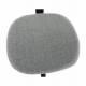 Dětská židle SALIM, černá/šedá