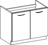 Spodní kuchyňská skříňka CHAMONIX II D80ZL, dřezová