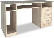 Pracovní stůl OFFICE II dub sonoma