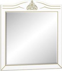 Zrcadlo MILAN bílý mat