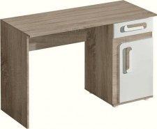 Pracovní stůl APETTITA 9 dub jasný/bílá