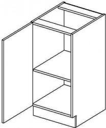 D40L dolní skříňka jednodvéřová MERLIN