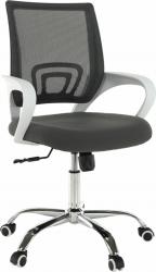 Kancelářská židle SANAZ TYP 2, šedá/bílá
