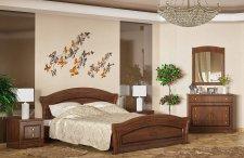 Ložnice MILANO třešeň (postel 160, 2 noční stolky, komoda 4S)