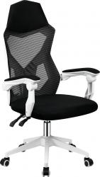 Kancelářská židle YOKO, černá/bílá