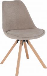 Jídelní židle SABRA, béžová/buk