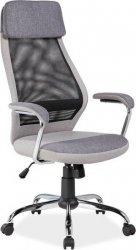 Kancelářská židle Q-336 šedá