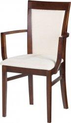 PALAZZO F3 čalouněná židle s područemi
