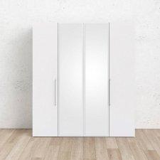 Skříň Lutta 14907 bílá MAT/zrcadlo