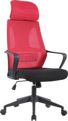 Kancelářská židle TAXIS, malinová/černá