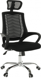 Kancelářská židle IMELA TYP 1, černá