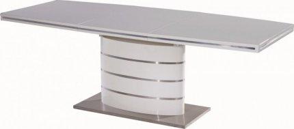 Jídelní stůl FANO 160 bílý rozkládací