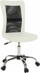 Kancelářská židle IDORO NEW, černá/bílá
