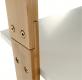 Regál, bílá / bambus, GAPA TYP 3