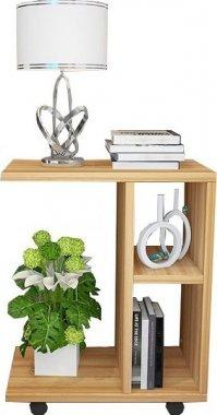 Příruční stolek, dřevo borovice, ABBAS