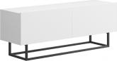 Televizní stolek RTV SPRING ERTV120 bez podstavy, bílá
