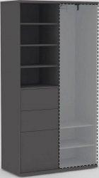 Kombinovaná skříň RAE ALBERTA 05A, GRAPHITE